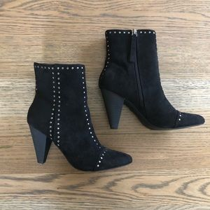 Microsuede Studded Booties - Universal Thread